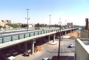 احداث پل روگذر میدان باهنر یزد