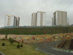 عملیات تکمیل و مقاوم سازی مجتمع مسکونی بوعلی