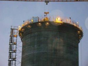 اجرای عملیات ساختمانی کارخانه سیمان غرب آسیا